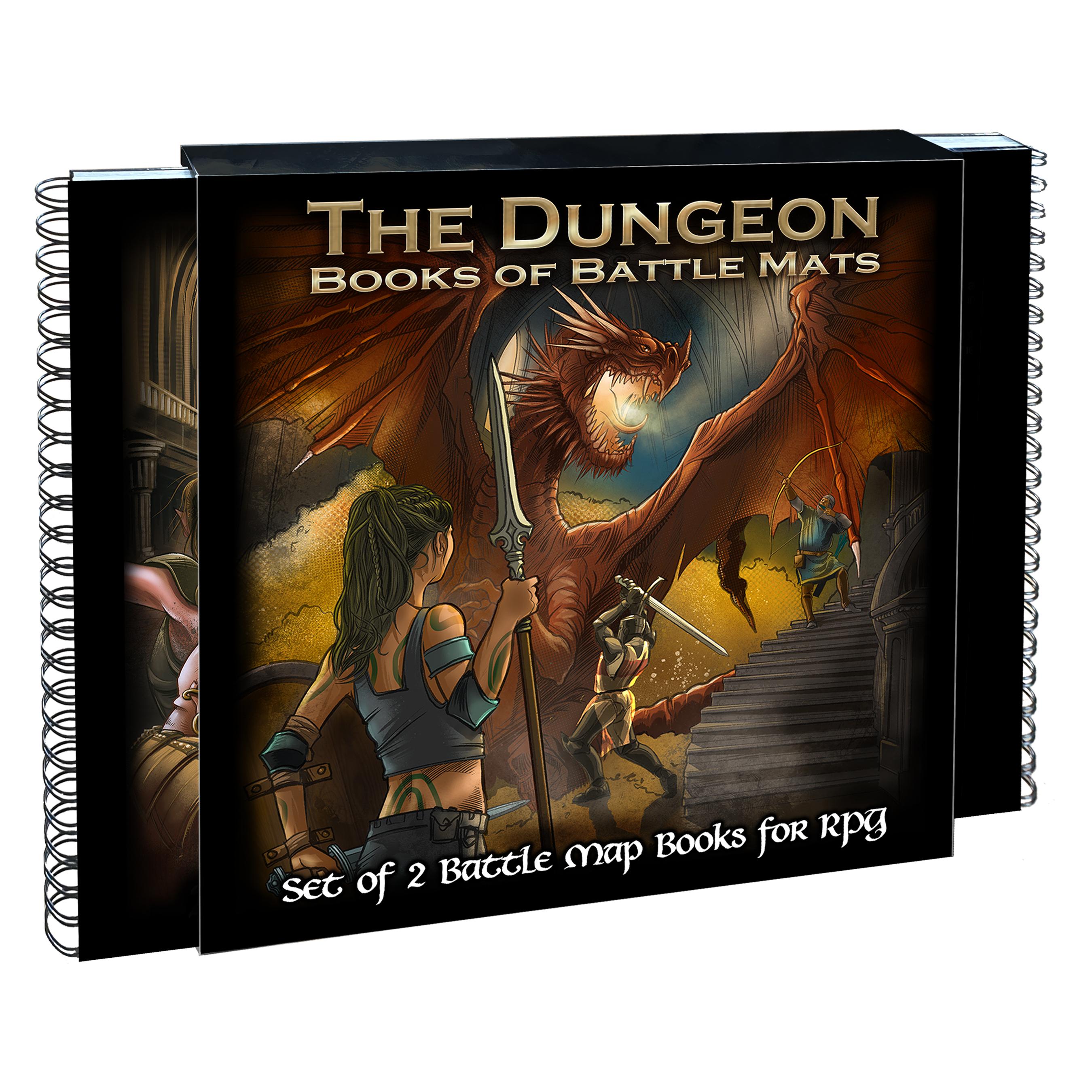 The Dungeon Books of Battle Mats -  Loke Battlemats