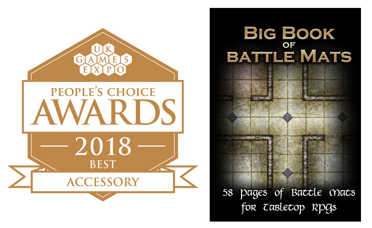 UK Games Expo 2018 People's Choice Best Accessory